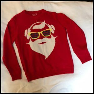 Christmas Sunglasses & Headphones Santa